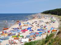 Polskie plaże otrzymują certyfikat Błękitna Flaga