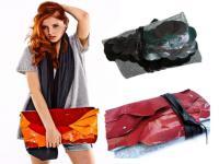 Ekologiczne torebki z materiałów odzyskanych