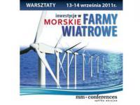 """Warsztat:"""" Inwestycje w morskie farmy wiatrowe"""""""