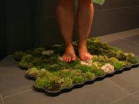 Biodegradowalny chodniczek do łazienki