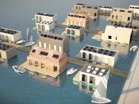 Pływający dom ekologiczny