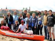 Recykling-Rejs: Dominik Dobrowolski sprząta rzeki ...