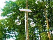 Polskie miasta stawiają na lampy solarne
