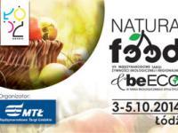 Międzynarodowe Targi Żywności Ekologicznej i Regionalnej NATURA FOOD już w październiku