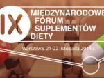 IX Międzynarodowe Forum Suplementów Diety- 2014