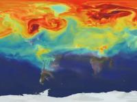 Jak dwutlenek węgla miesza w naszej atmosferze?
