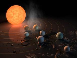 NASA odkryła siedem planet wielkości Ziemi, w tym trzy w strefie zamieszkiwalnej