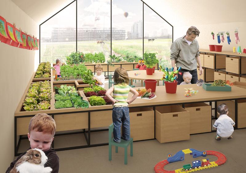 Gospodarstwo rolne u przedszkolaków