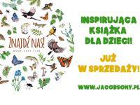 Znajdź nas! Woda, łąka i las - nowa książka dla dzieci
