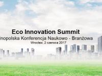 Eco Innovation Summit w czerwcu