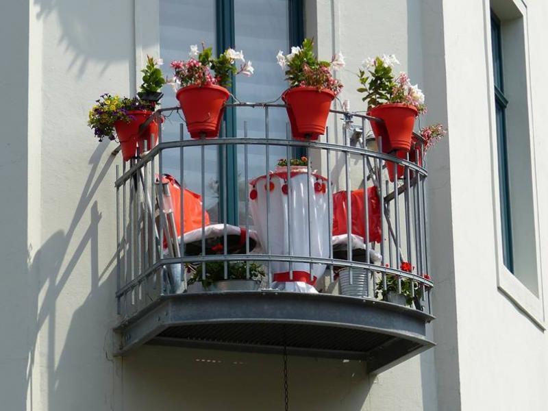Mini Balkon rośliny na balkonie jak przyozdobić mały balkon ekologia pl