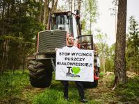 Ekolodzy blokują wycinkę w Puszczy Białowieskiej