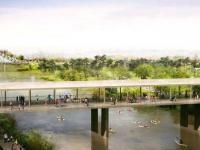 Teksański projekt ogrodu botanicznego na polu golfowym