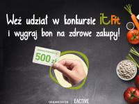Weź udział w konkursie kulinarnym IT FIT i wygraj nagrody!