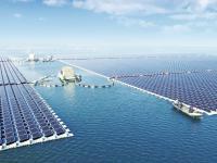 Ogromna pływająca elektrownia słoneczna w Chinach