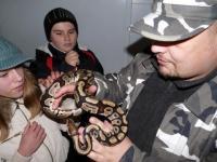 Łowca węży to zawód jak inne…