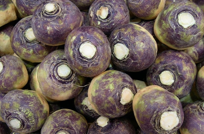 By pin add (Swede (The Vegetable)Uploaded by nesnad) [CC BY 2.0], via Wikimedia Commons