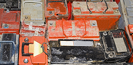 Odpady, zuzyte akumulatory