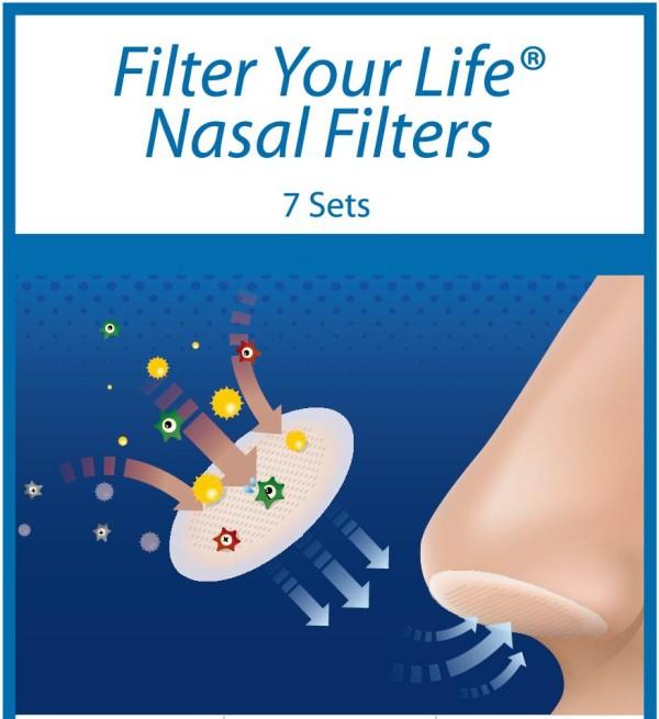 filtry do nosa