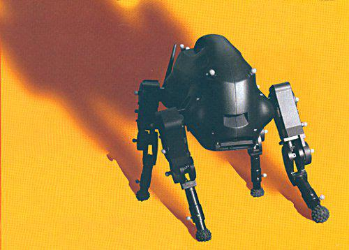 LittleDog Robot, źródło Boston Dynamics