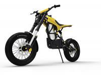Motocykl crossowy napędzany powietrzem