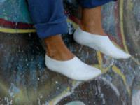 Biodegradowalne buty możesz zakopać w ogródku