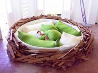 Postaw sobie ptasie gniazdo w sypialni