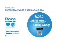 """Konkurs """"Oszczędzaj wodę z aplikacją Roca"""" rozwiązany!"""