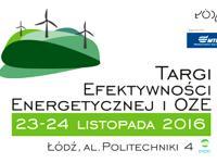 Targi Efektywności Energetycznej i OZE jesienią w Łodzi