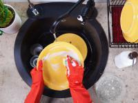 Przepis na mydlany płyn do mycia naczyń z dodatkiem olejków eterycznych