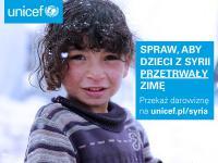 Wesprzyj dzieci z Syrii poprzez Unicef