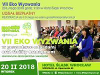 VII Konferencja  Eko Wyzwania już w lutym