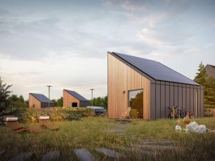 Solace House ‒ dom, który wytwarza więcej energii niż zużywa
