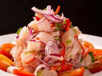 Ceviche – peruwiańska sałatka z owocami morza