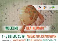 Weekend dla klimatu – zaproszenie na wydarzenia