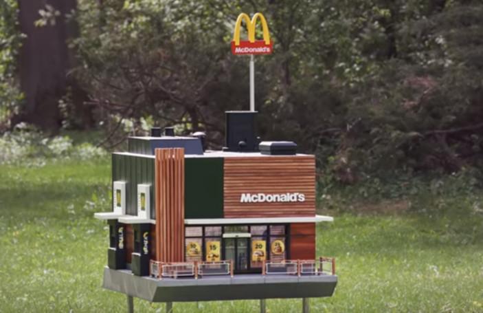 Mcdonald's otwiera najmniejszą na świecie restaurację dla pszczół