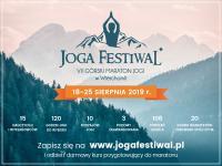 Odwiedź Joga Festiwal w sierpniu w Wierchomli