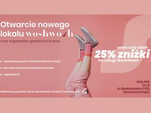 Daj drugie życie swoim butom na Pradze!