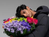 Ciepłe kurtki zimowe wypełnione kwiatami