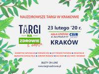 Targi na Zdrowie ruszą w lutym w Krakowie!