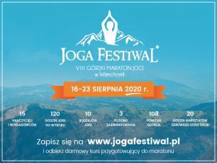 VIII Górski Maraton Jogi w sierpniu w Wierchomli