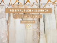 Festiwal Sukien Ślubnych z Drugiej Ręki już niebawem w Krakowie