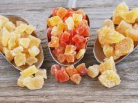 Owoce kandyzowane – właściwości, skład i rodzaje owoców   kandyzowanych