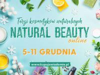Targi kosmetyków naturalnych Natural Beauty – cały tydzień online!