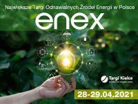 Enex - targi odnawialnych źródeł energii już w kwietniu