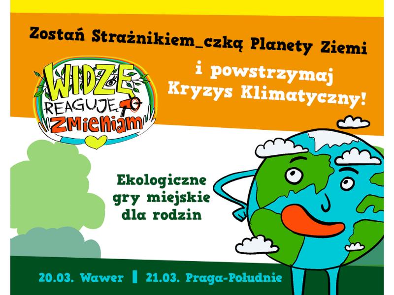 Gry miejskie dla dzieci o ekologii - weź udział