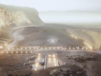 Pierwsze samowystarczalne miasto na Marsie mogłoby pomieścić milion ludzi