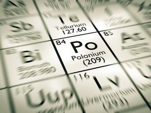 Polon (Po) ‒  właściwości, działanie i występowanie polonu