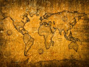 Kontynenty na świecie