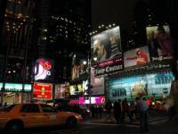 Ekologiczny billboard stanie na Times Square